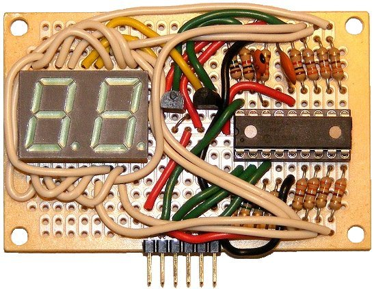 Display Counter Circuit Board : Neoloch project digit segmen display